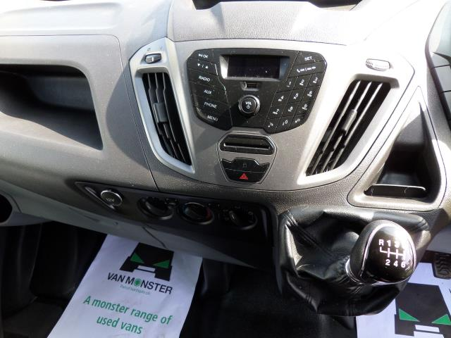 2016 Ford Transit Custom 2.2 Tdci 100Ps Low Roof D/Cab Van (FG16URE) Image 10