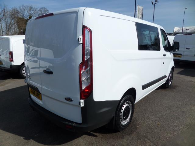 2016 Ford Transit Custom 2.2 Tdci 100Ps Low Roof D/Cab Van (FG16URE) Image 3