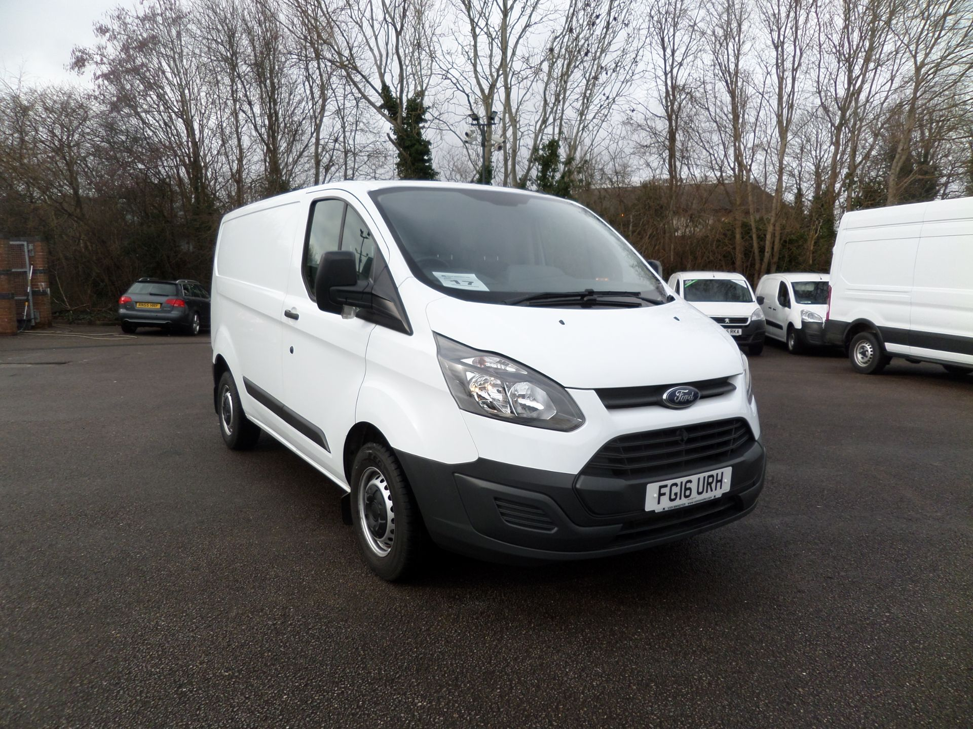 2016 Ford Transit Custom 2.2 Tdci 100Ps Low Roof Van Euro 5 (FG16URH)