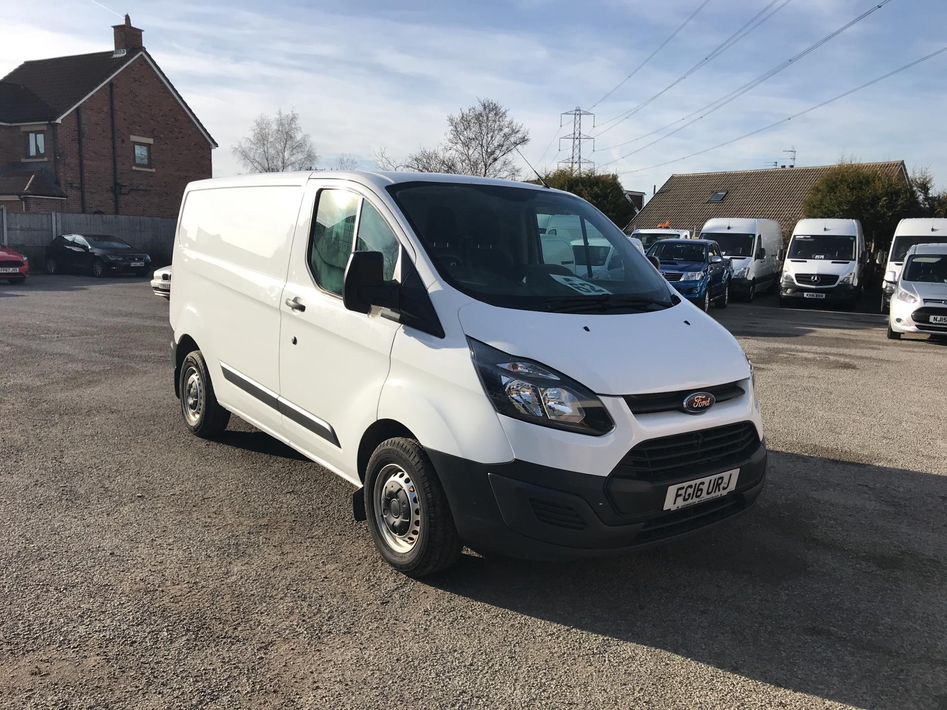 48d77f3e1a 2016 Ford Transit Custom 290 L1 DIESEL FWD 2.2 TDCI 100PS LOW ROOF VAN EURO  5