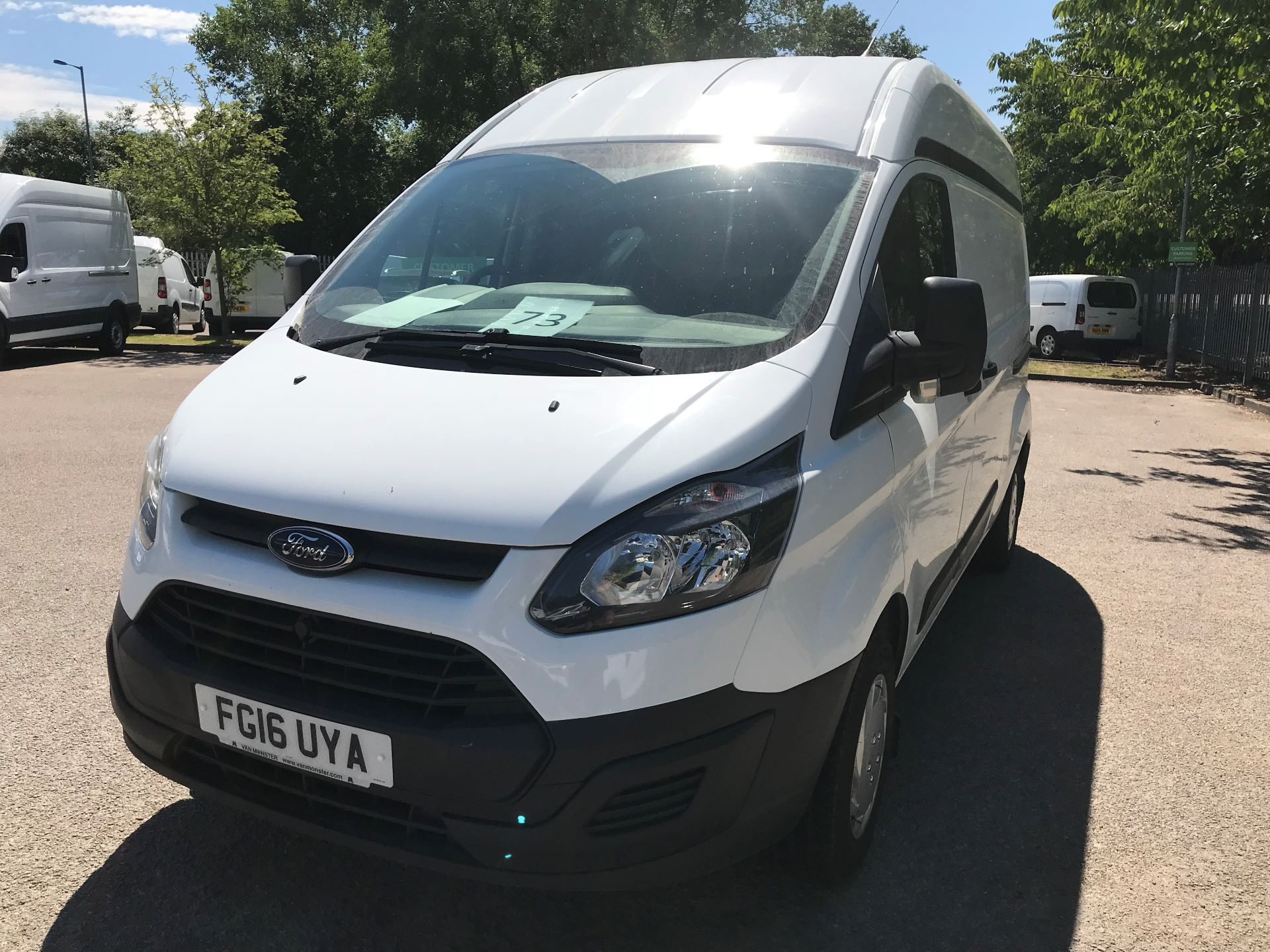 2016 Ford Transit Custom  290 L2 DIESEL FWD 2.2 TDCI 100PS HIGH ROOF EURO 5 (FG16UYA) Image 17