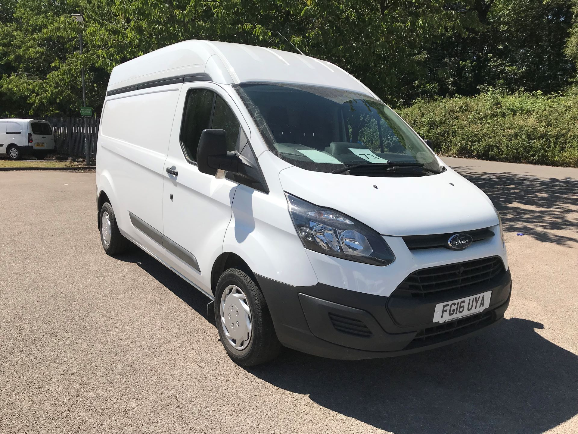 2016 Ford Transit Custom  290 L2 DIESEL FWD 2.2 TDCI 100PS LOW ROOF EURO 5 (FG16UYA)