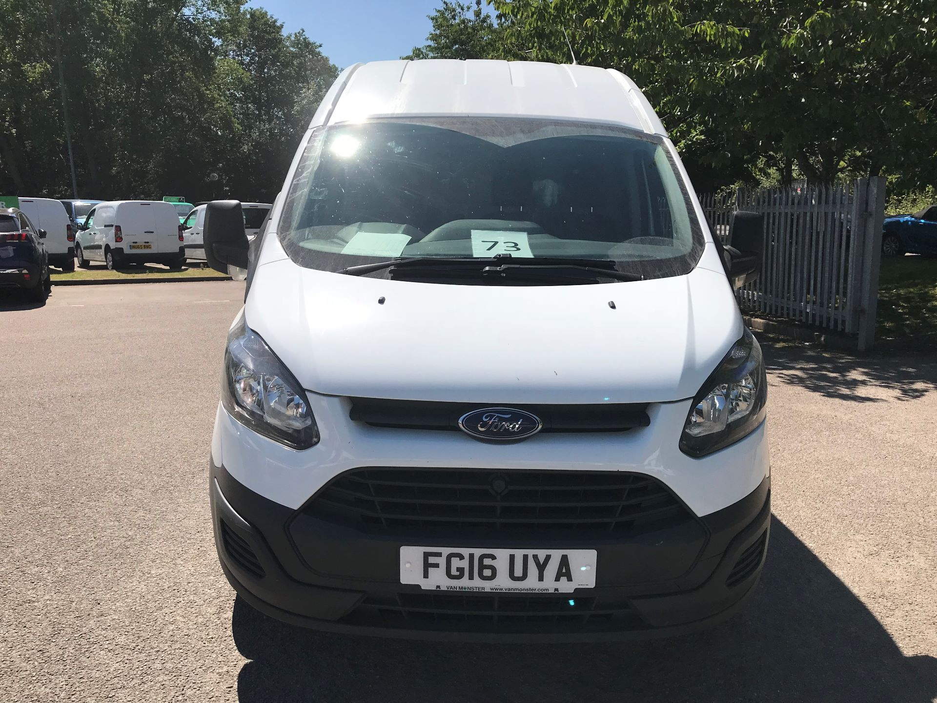 2016 Ford Transit Custom  290 L2 DIESEL FWD 2.2 TDCI 100PS HIGH ROOF EURO 5 (FG16UYA) Image 18