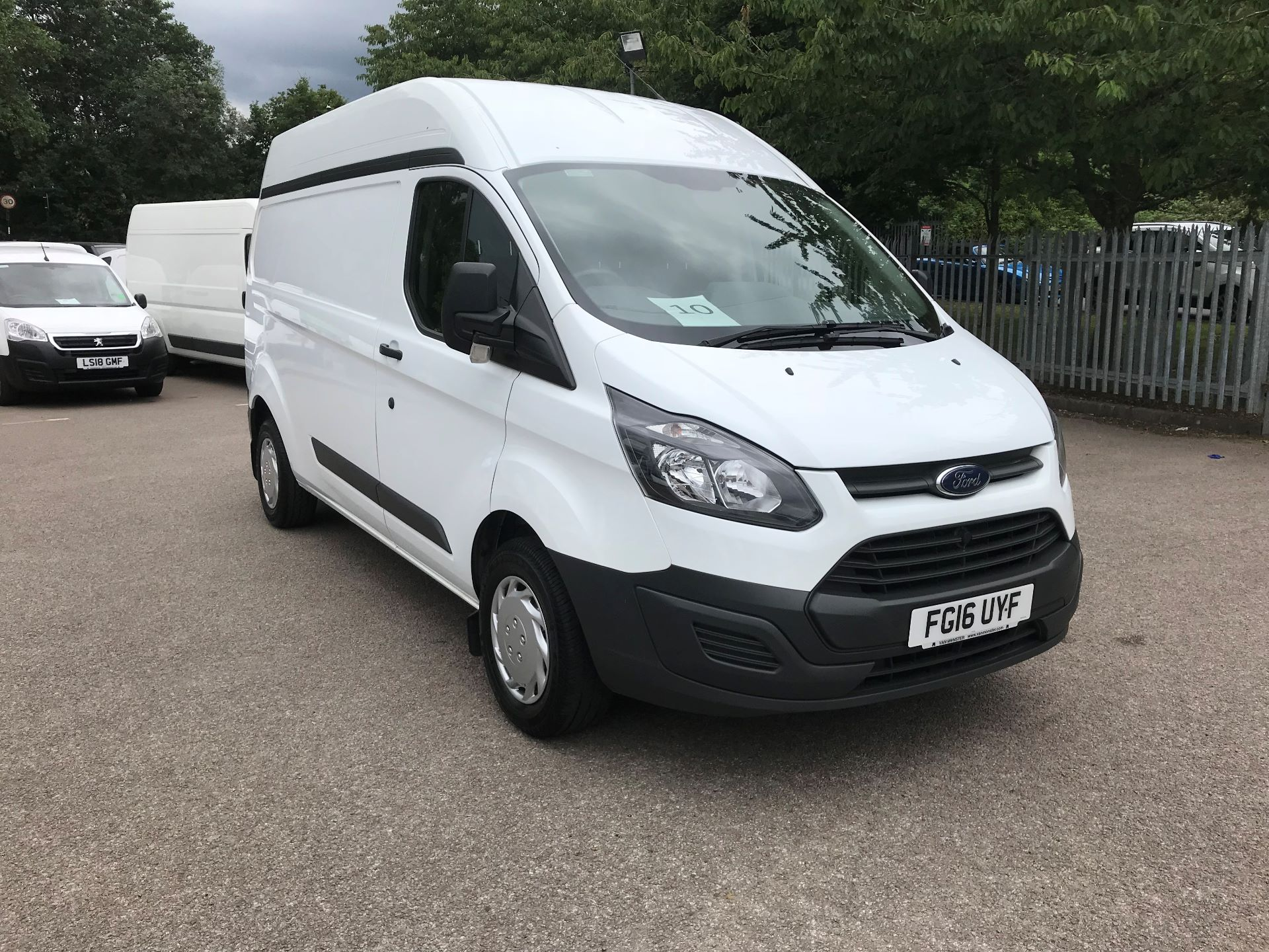 2016 Ford Transit Custom 290 L2 DIESEL FWD 2.2 TDCI 100PS HIGH ROOF VAN EURO 5 (FG16UYF)