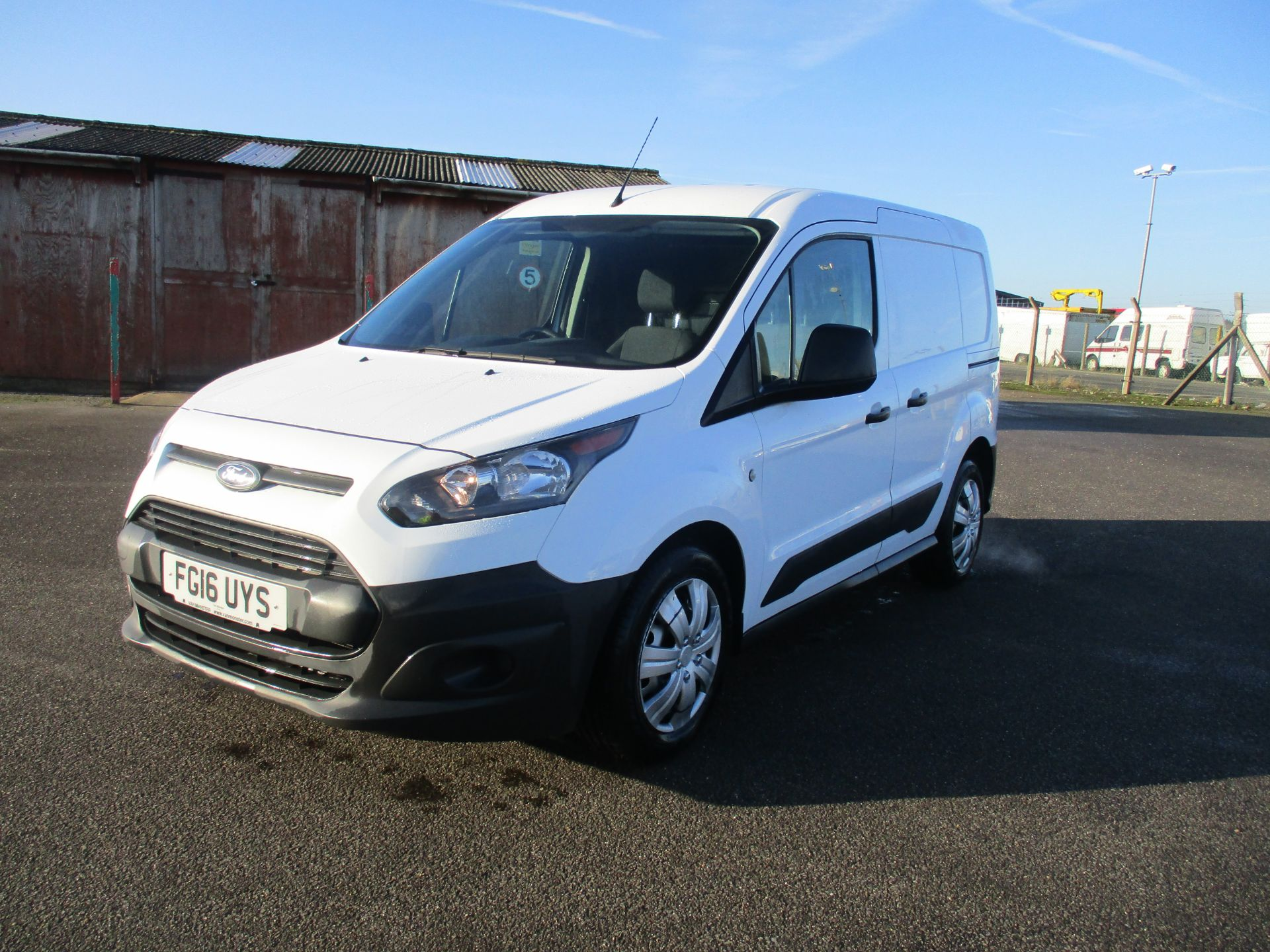 2016 Ford Transit Connect T220 L1 H1 1.5TDCI 75PS EURO 6 (FG16UYS) Image 3