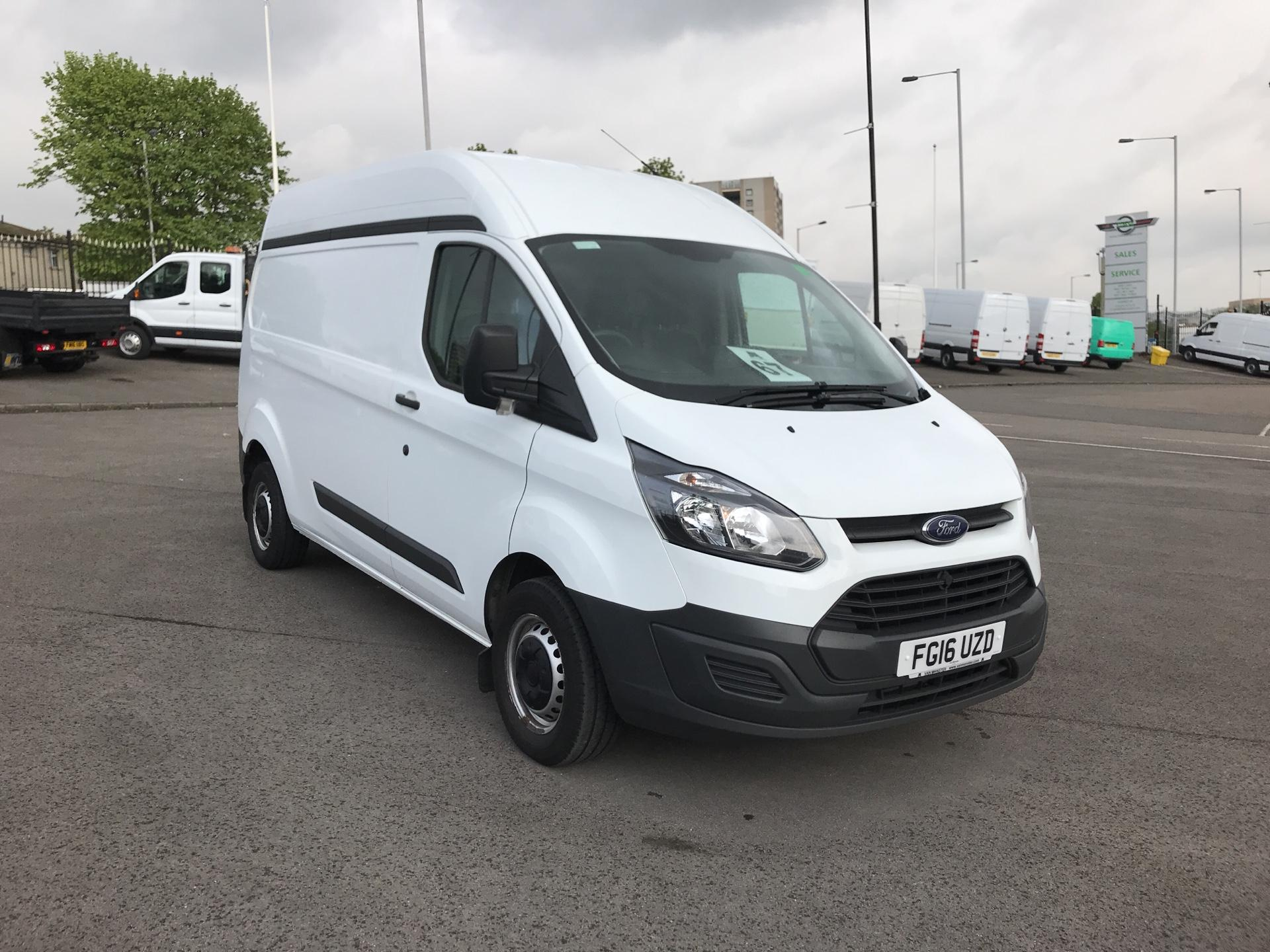 Modish 2016 Ford Transit Custom 2.2 Tdci 100Ps High Roof Van (FG16UZD HS93