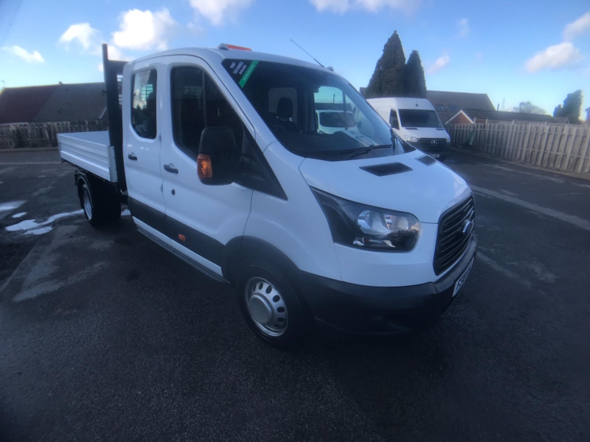 2018 Ford Transit  350 L3 DOUBLE CAB TIPPER 130PS EURO 6 (FG18XGF)