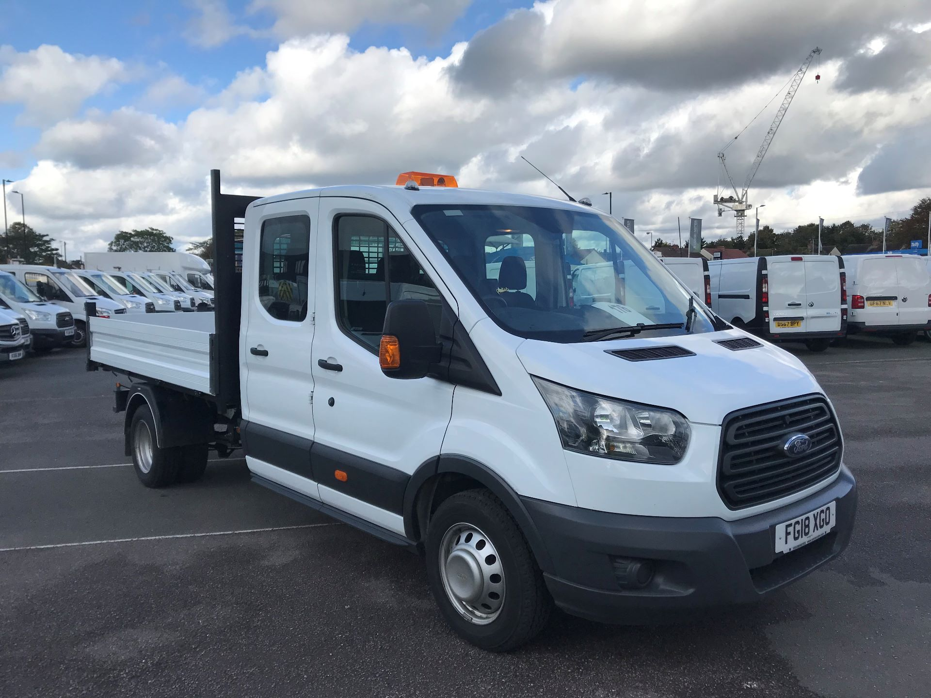 2018 Ford Transit  350 L3 D/CAB TIPPER 130PS EURO 6 (FG18XGO)