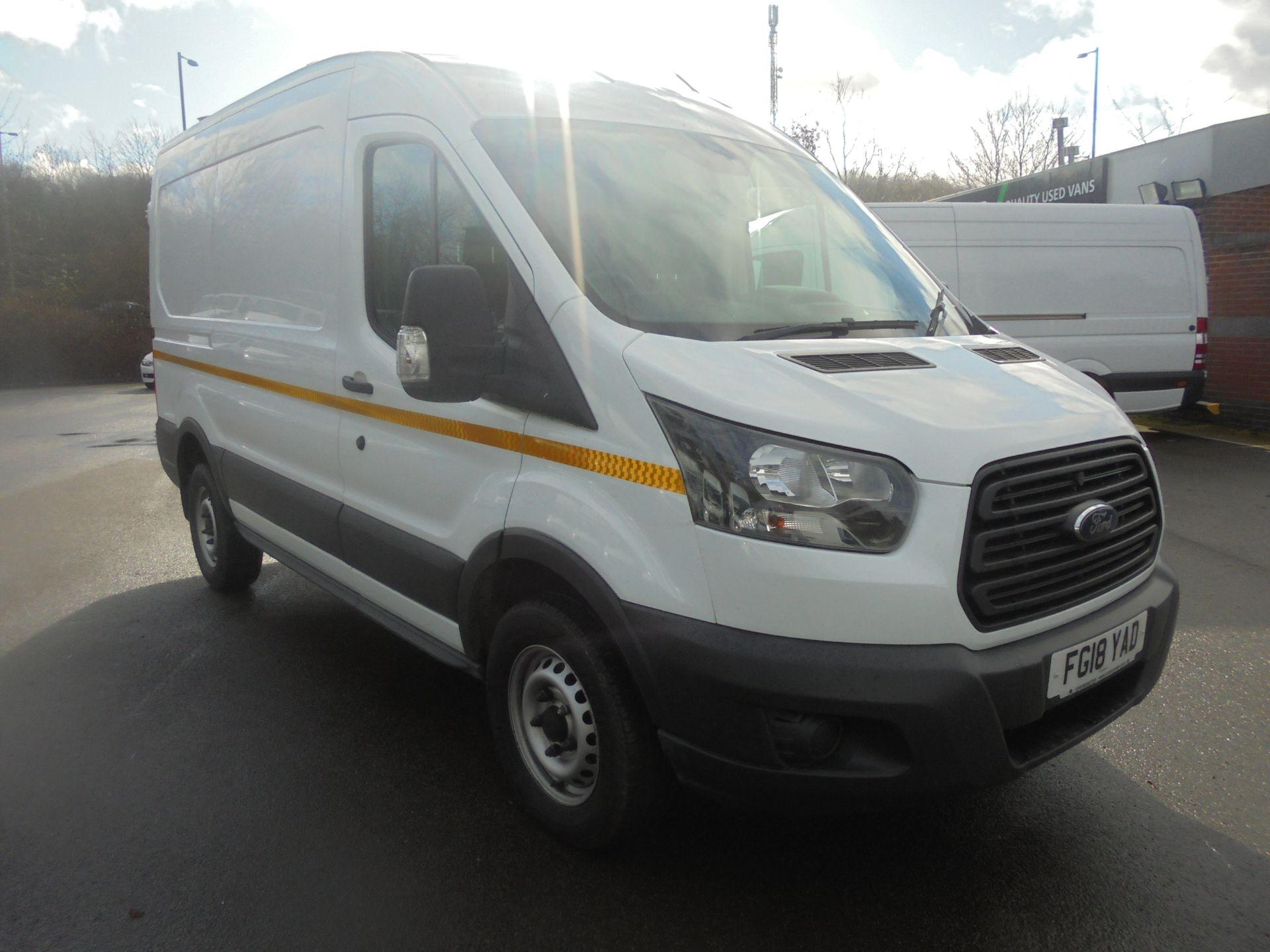 2018 Ford Transit 2.0 Tdci 130Ps H2 Van (FG18YAD) Image 1