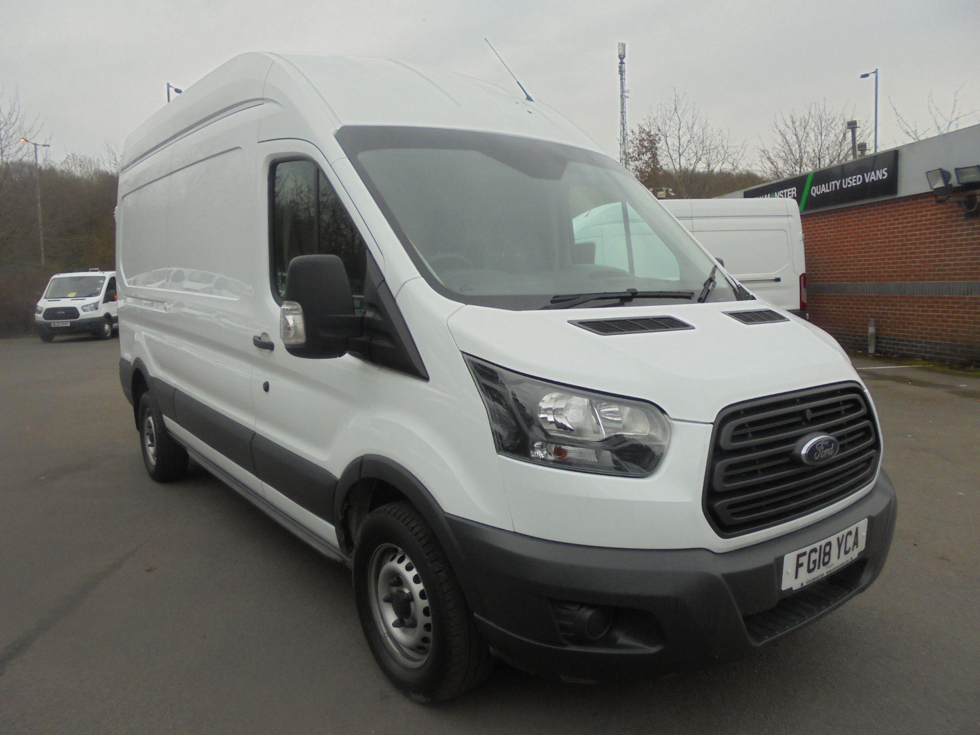 2018 Ford Transit 2.0 Tdci 130Ps H3 Van (FG18YCA)