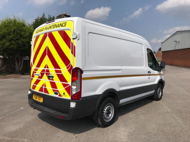 2018 Ford Transit 2.0 Tdci 130Ps L2 H2 Van Euro 6 *70 MPH SPEED LIMITED* (FG18YDT) Image 7