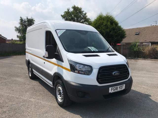 2018 Ford Transit 2.0 Tdci 130Ps L2 H2 Van Euro 6 *70 MPH SPEED LIMITED* (FG18YDT)