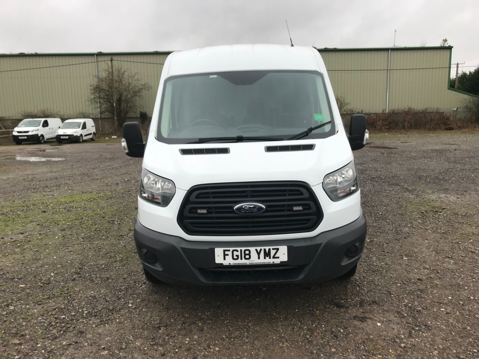 2018 Ford Transit 350  L2 H2 VAN 130PS EURO 6 (FG18YMZ) Image 2