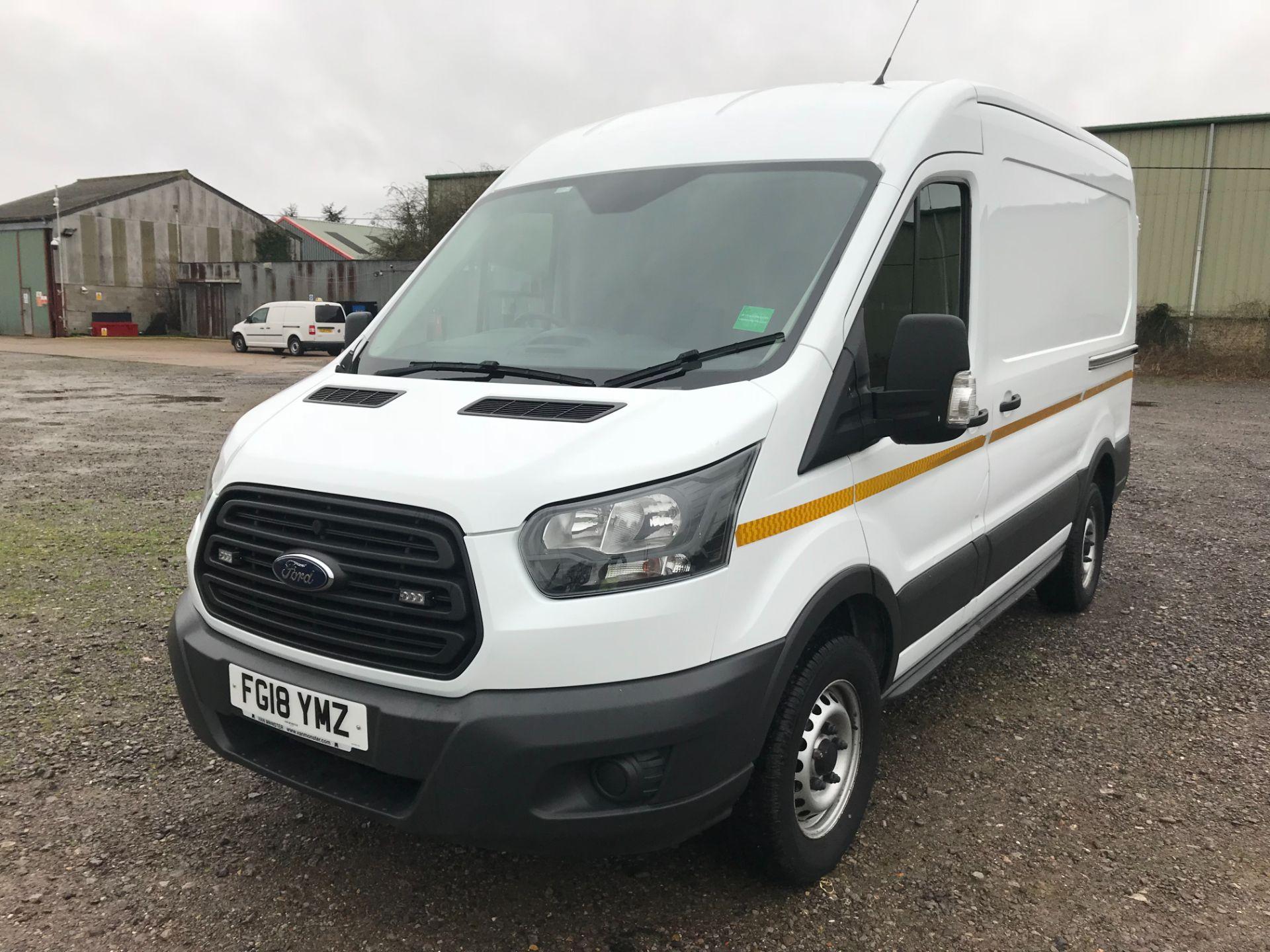 2018 Ford Transit 350  L2 H2 VAN 130PS EURO 6 (FG18YMZ) Image 3