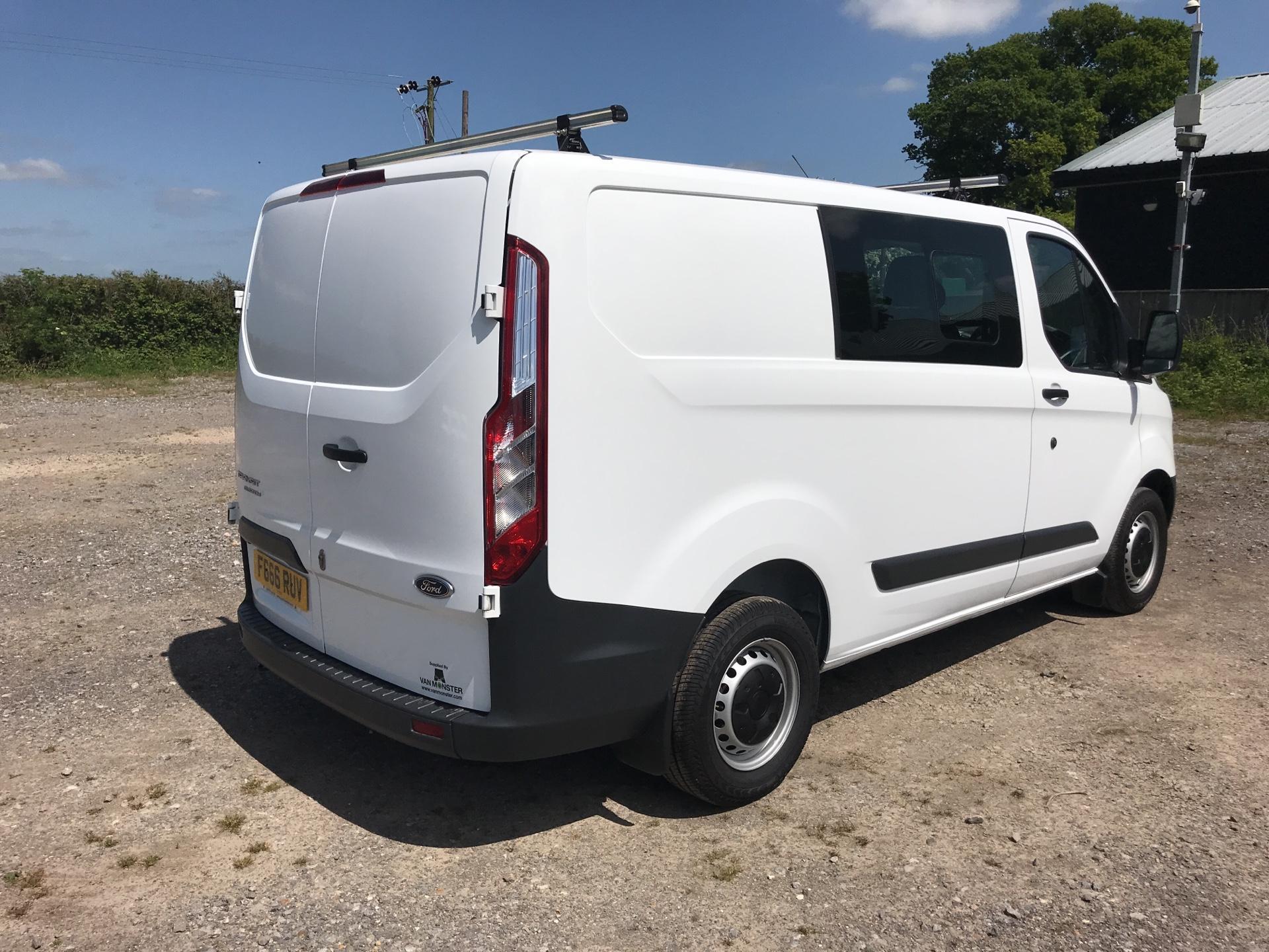 2016 Ford Transit Custom 2.0 Tdci 105Ps Low Roof D/Cab Van (FG66RUV) Image 3
