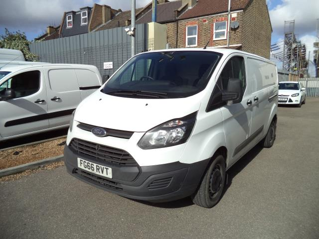 2016 Ford Transit Custom L2 H1 T290 DIESEL FWD 2.2 TDCI 100PS LOW ROOF EURO 5 (FG66RVT) Thumbnail 3
