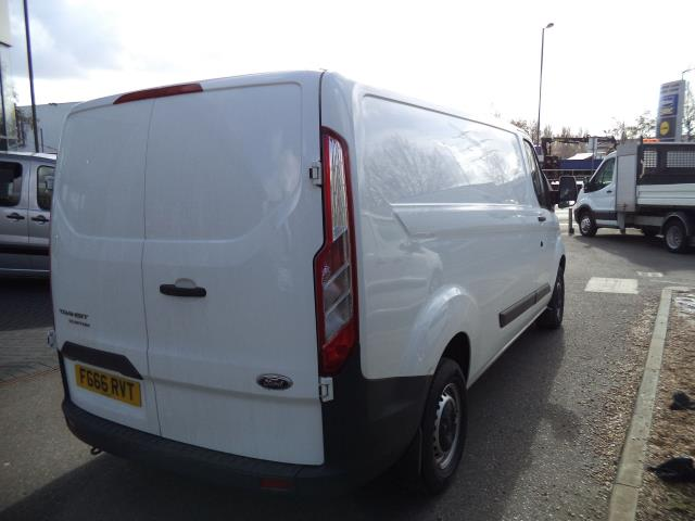 2016 Ford Transit Custom L2 H1 T290 DIESEL FWD 2.2 TDCI 100PS LOW ROOF EURO 5 (FG66RVT) Thumbnail 4