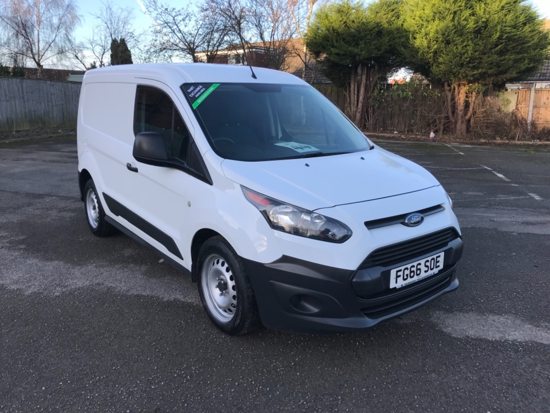 2016 Ford Transit Connect 1.5 Tdci 75Ps Van (FG66SOE)