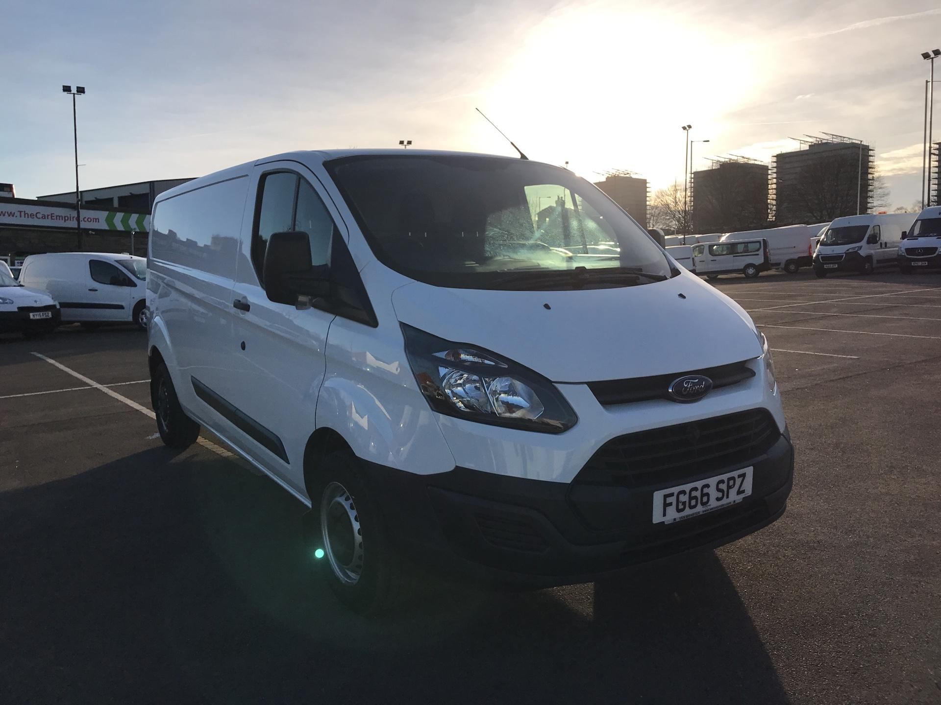2016 Ford Transit Custom 270 L1 DIESEL FWD 2.2  TDCI 100PS LOW ROOF VAN EURO 5 (FG66SPZ)
