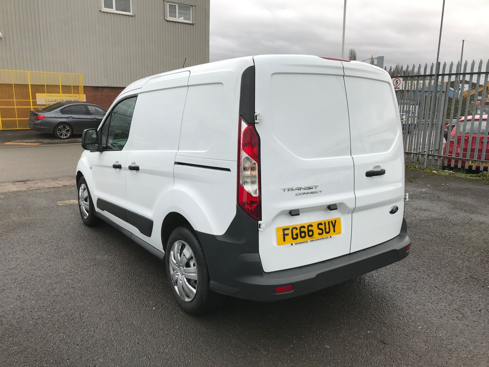 2016 Ford Transit Connect T220 L1 H1 1.5TDCI 75PS EURO 6 (FG66SUY) Image 10