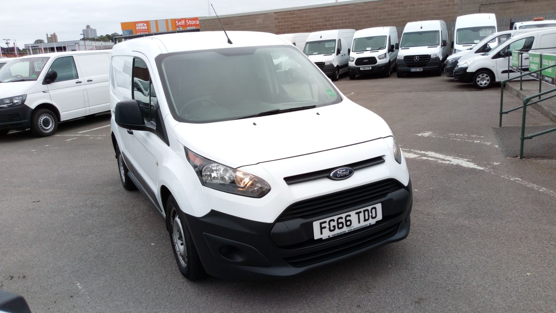 2016 Ford Transit Connect 1.5 Tdci 75Ps Van (FG66TDO) Image 1
