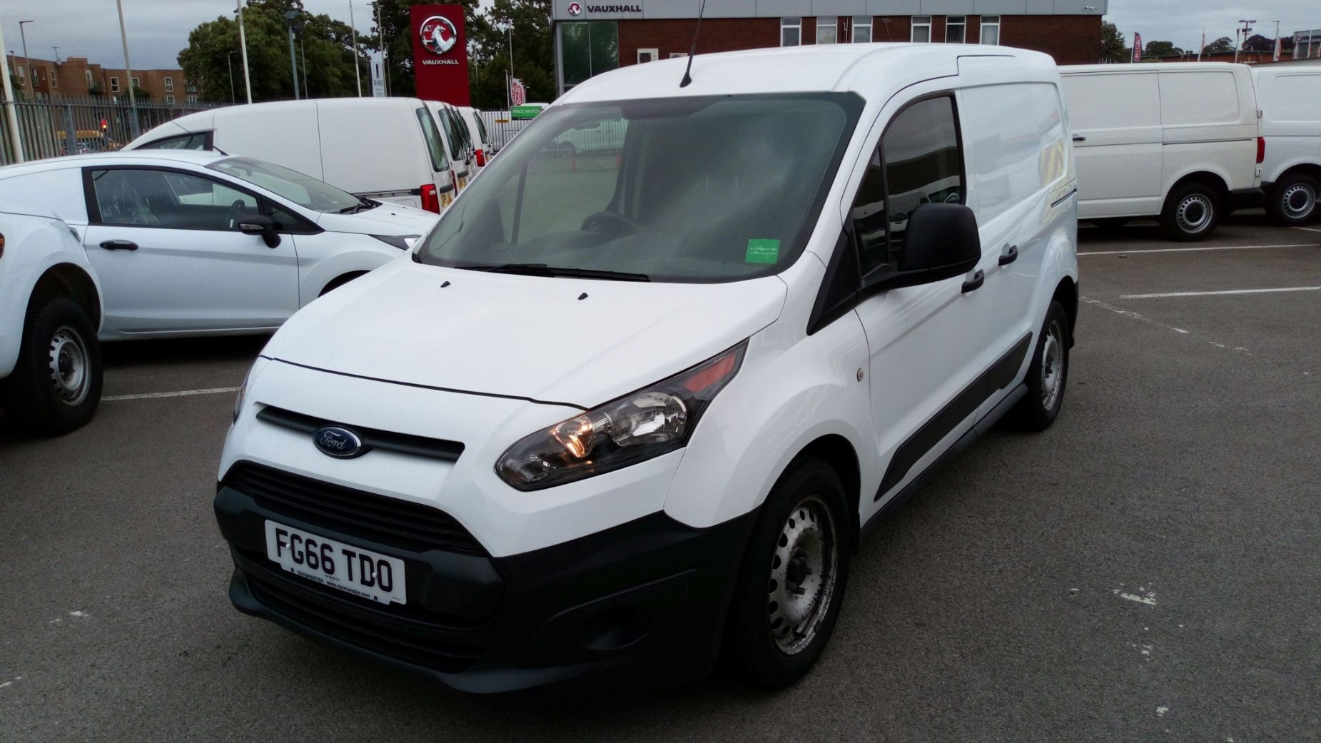 2016 Ford Transit Connect 1.5 Tdci 75Ps Van (FG66TDO) Image 3