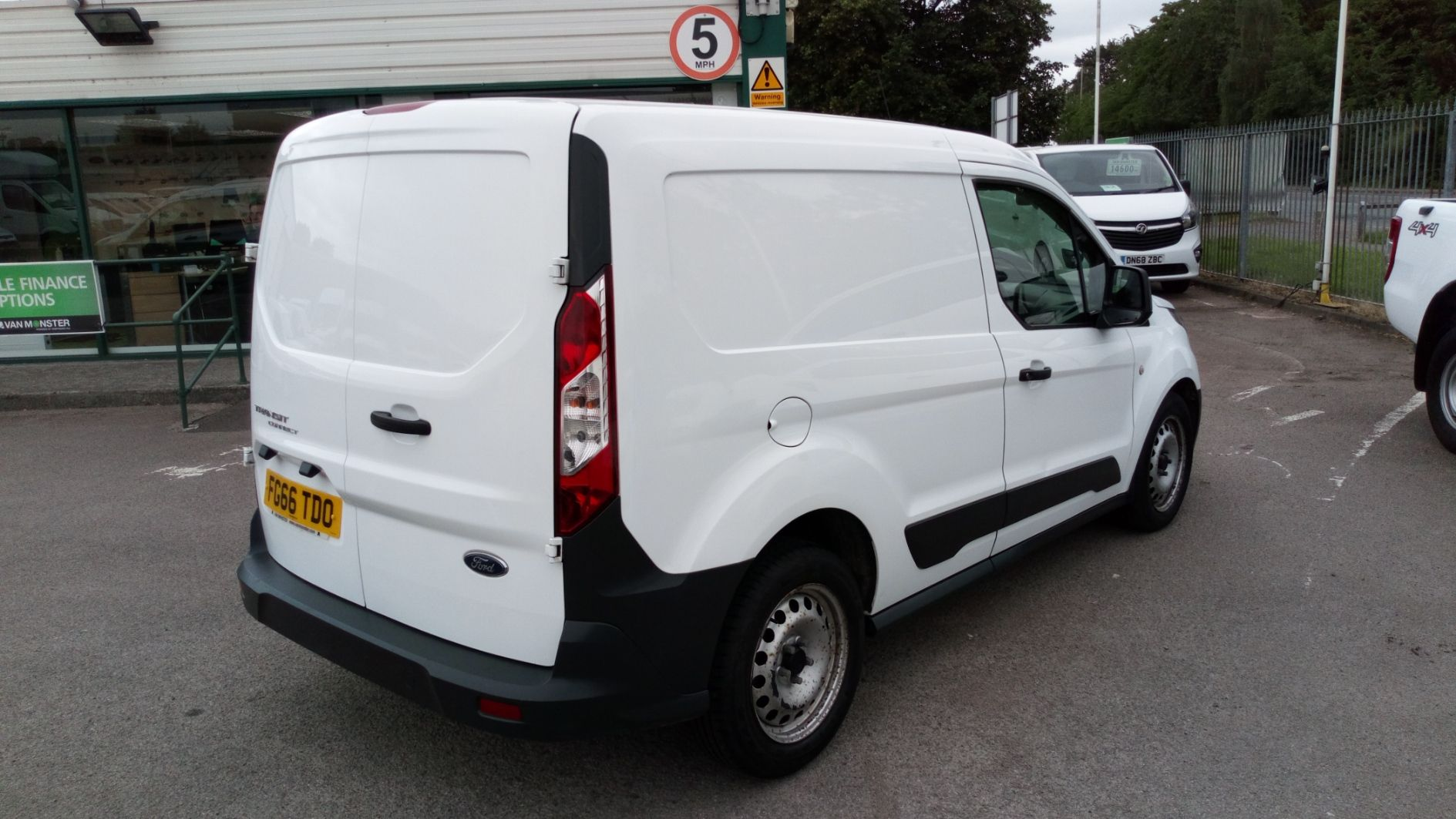2016 Ford Transit Connect 1.5 Tdci 75Ps Van (FG66TDO) Image 7