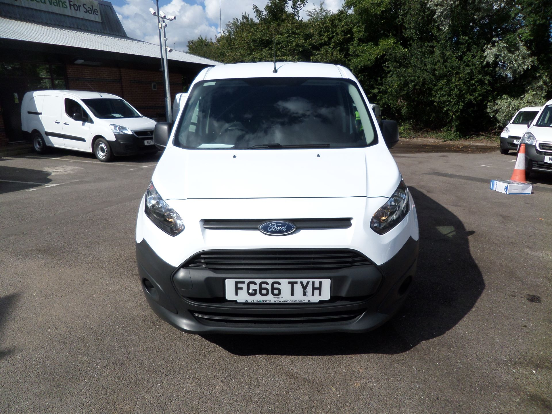2016 Ford Transit Connect 1.5 Tdci 75Ps Van Euro 6 (FG66TYH) Image 10