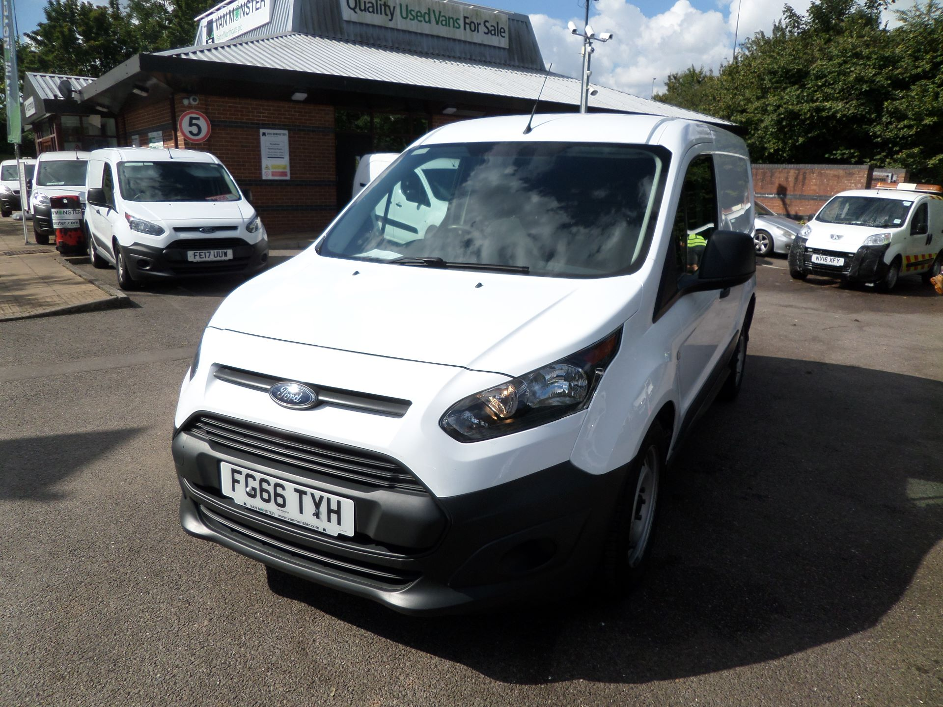 2016 Ford Transit Connect 1.5 Tdci 75Ps Van Euro 6 (FG66TYH) Image 9