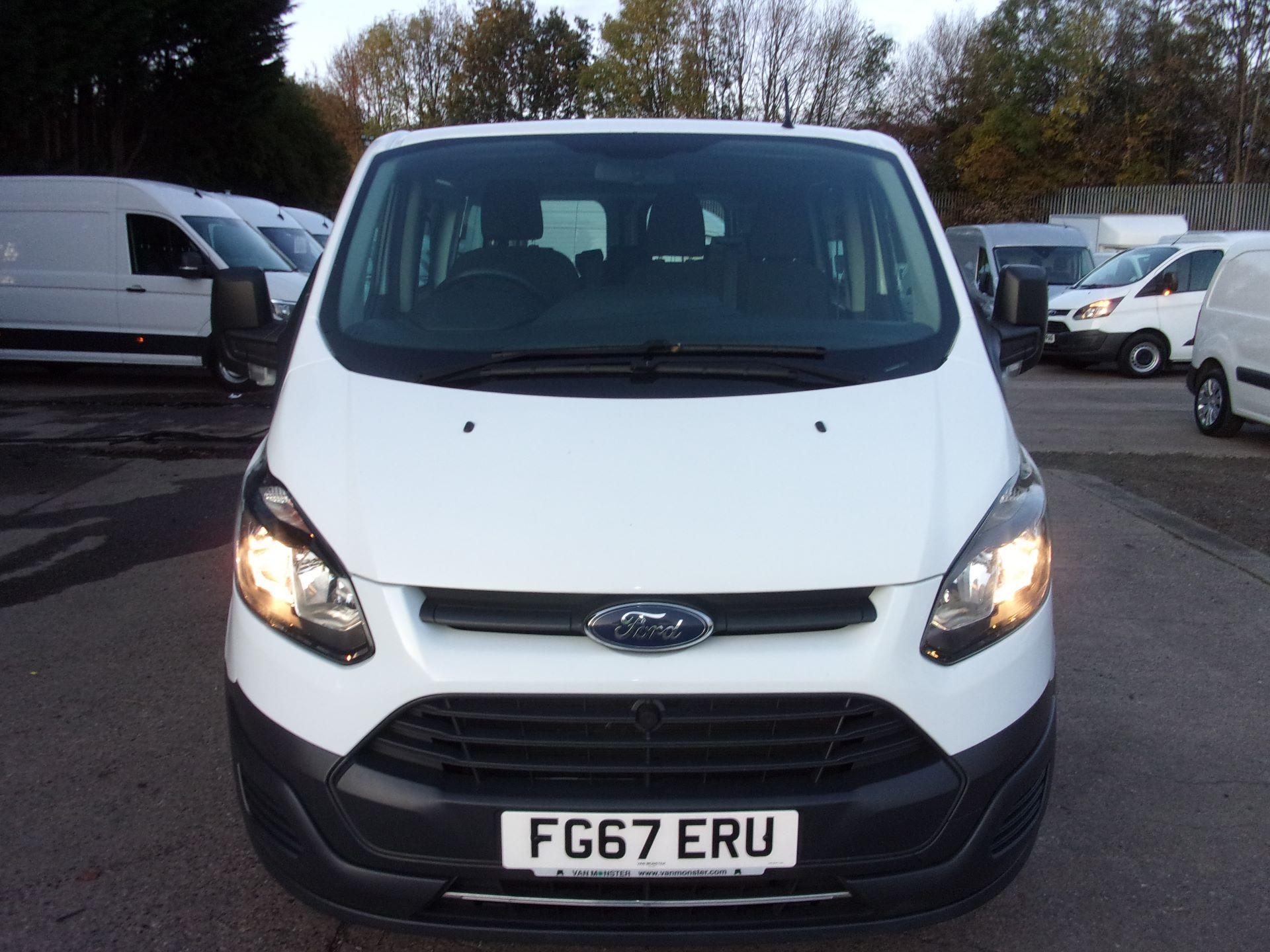 2017 Ford Transit Custom 310 L2 DIESEL FWD 2.0 TDCI 130PS LOW ROOF KOMBI EURO 6 (FG67ERU) Image 2