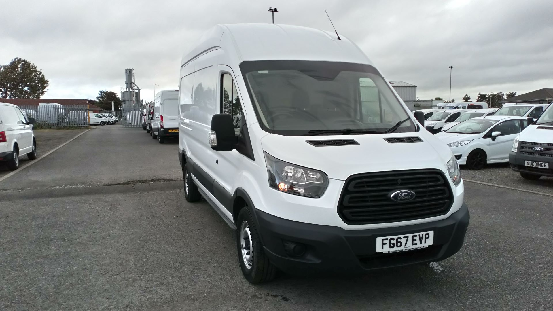 2017 Ford Transit 2.0 Tdci 130Ps H3 Van (FG67EVP) Image 1