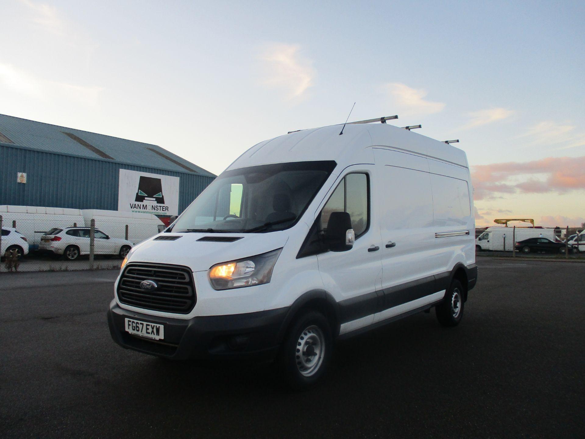2017 Ford Transit L3 H3 VAN 130PS EURO 6 (FG67EXW) Image 3
