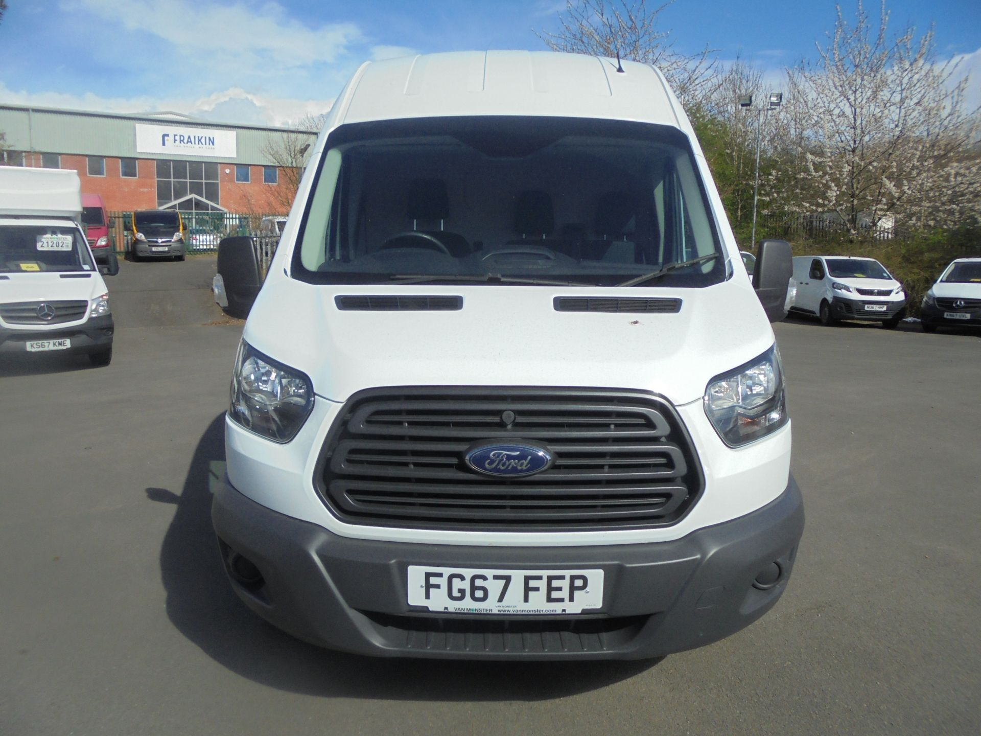 2017 Ford Transit 2.0 Tdci 130Ps H3 Van (FG67FEP) Image 2