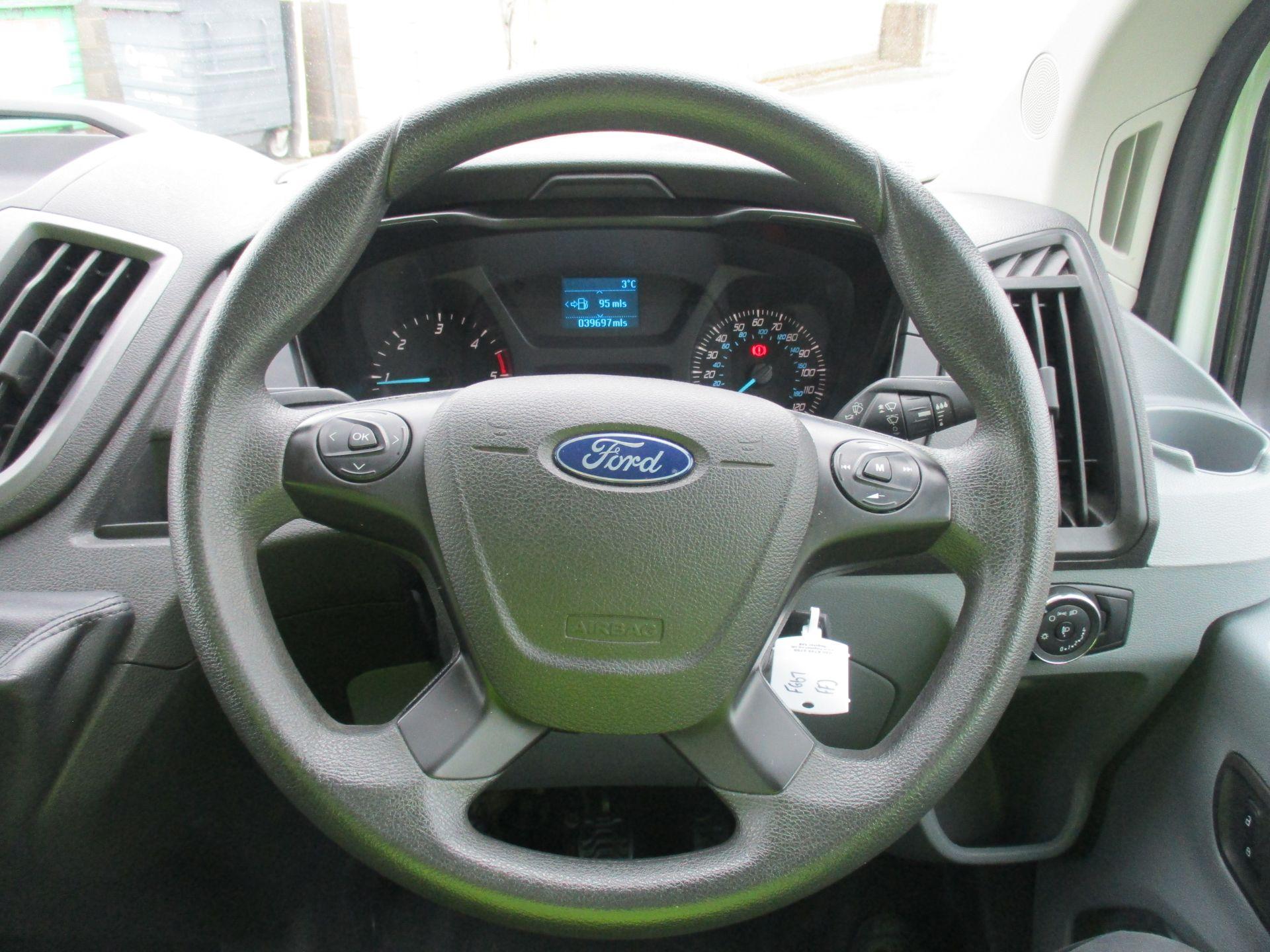 2017 Ford Transit L3 H3 VAN 130PS EURO 6 (FG67FFJ) Image 16
