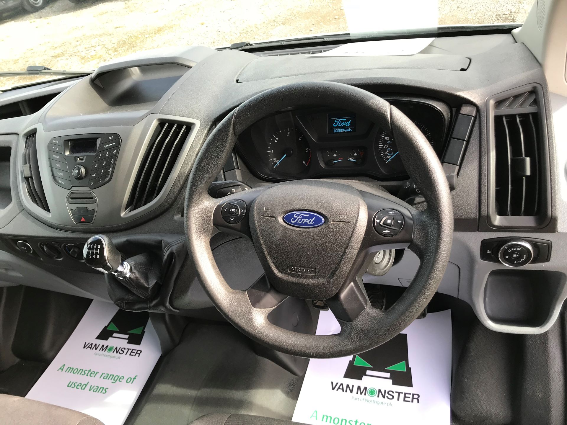 2017 Ford Transit L3 H3 VAN 130PS EURO 6 (FG67FHM) Image 24