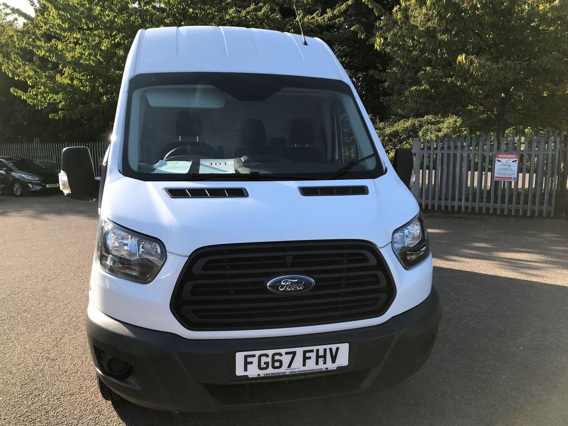 2017 Ford Transit L3 H3 VAN 130PS EURO 6 (FG67FHV) Image 2