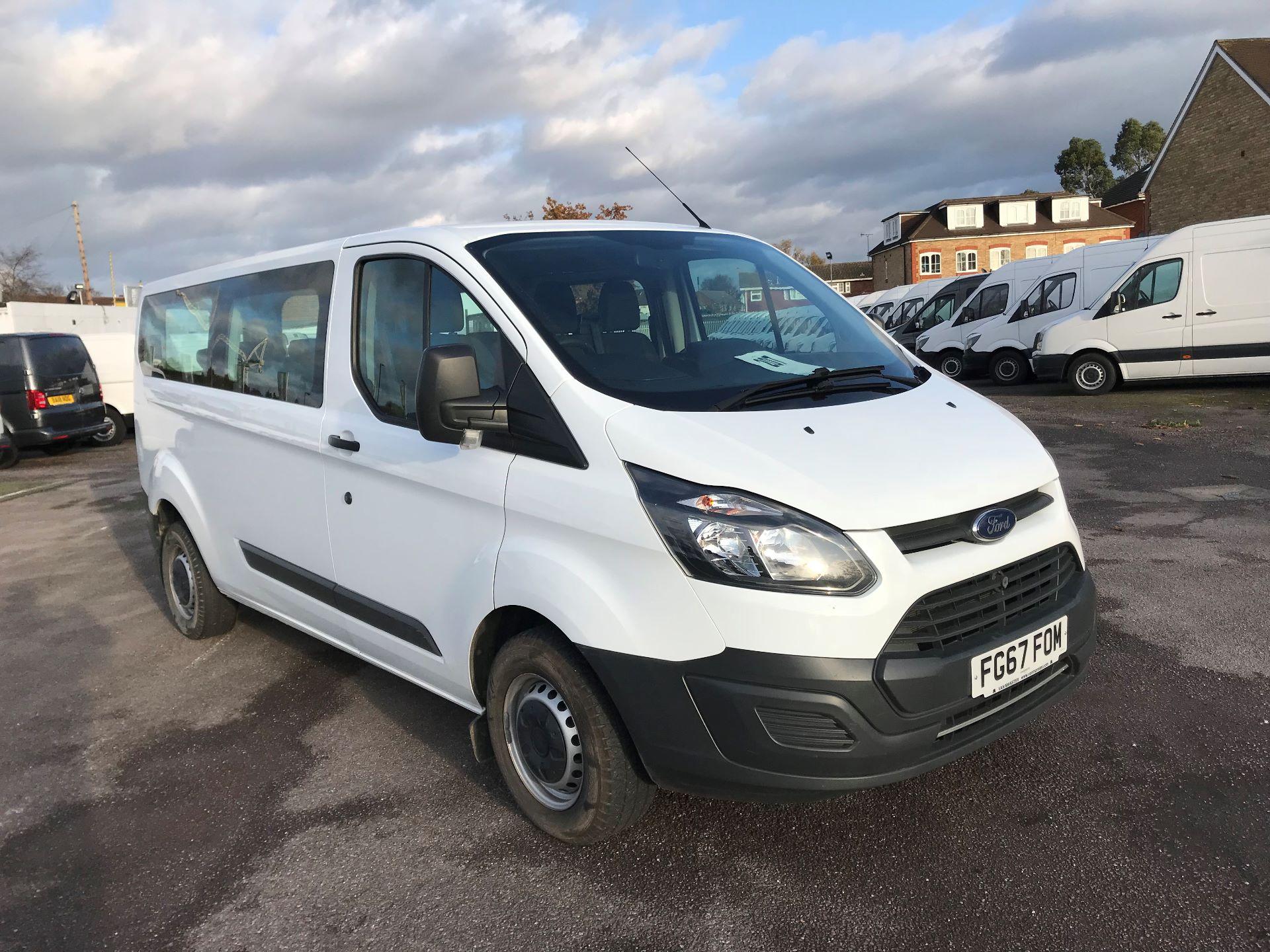 2017 Ford Transit Custom   310 L2 L/R KOMBI 130PS EURO 6 (FG67FOM)