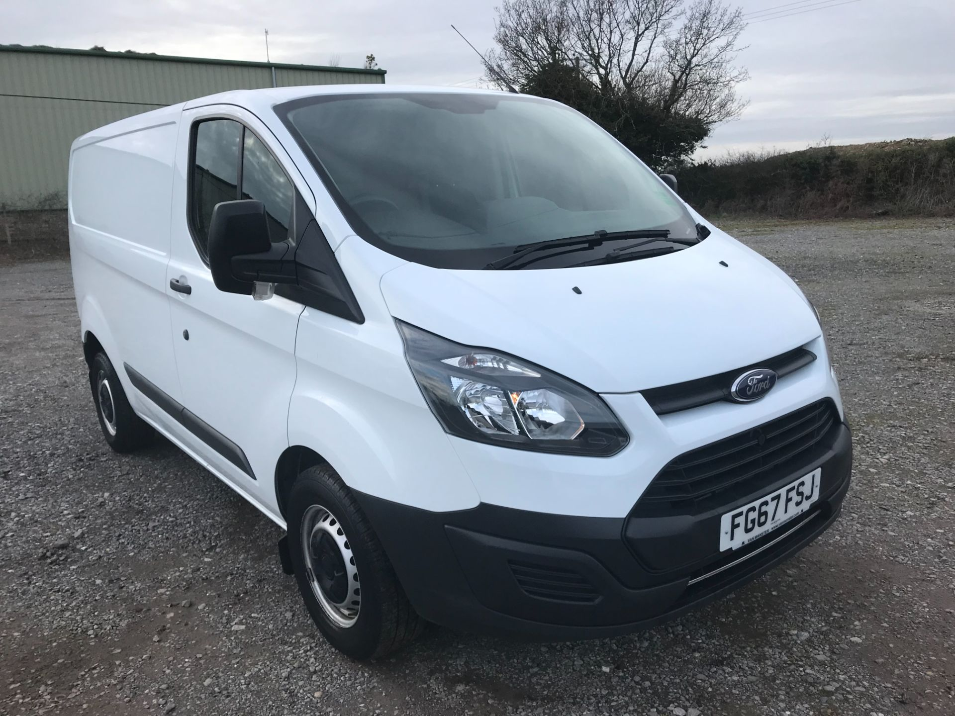 2017 Ford Transit Custom  290 L1 DIESEL FWD 2.0 TDCI 105PS LOW ROOF VAN EURO 6 (FG67FSJ)