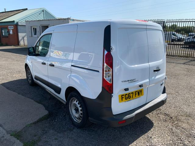 2017 Ford Transit Connect 200 L1 Diesel 1.5 TDCi 75PS Van EURO 6 (FG67FWY) Image 8