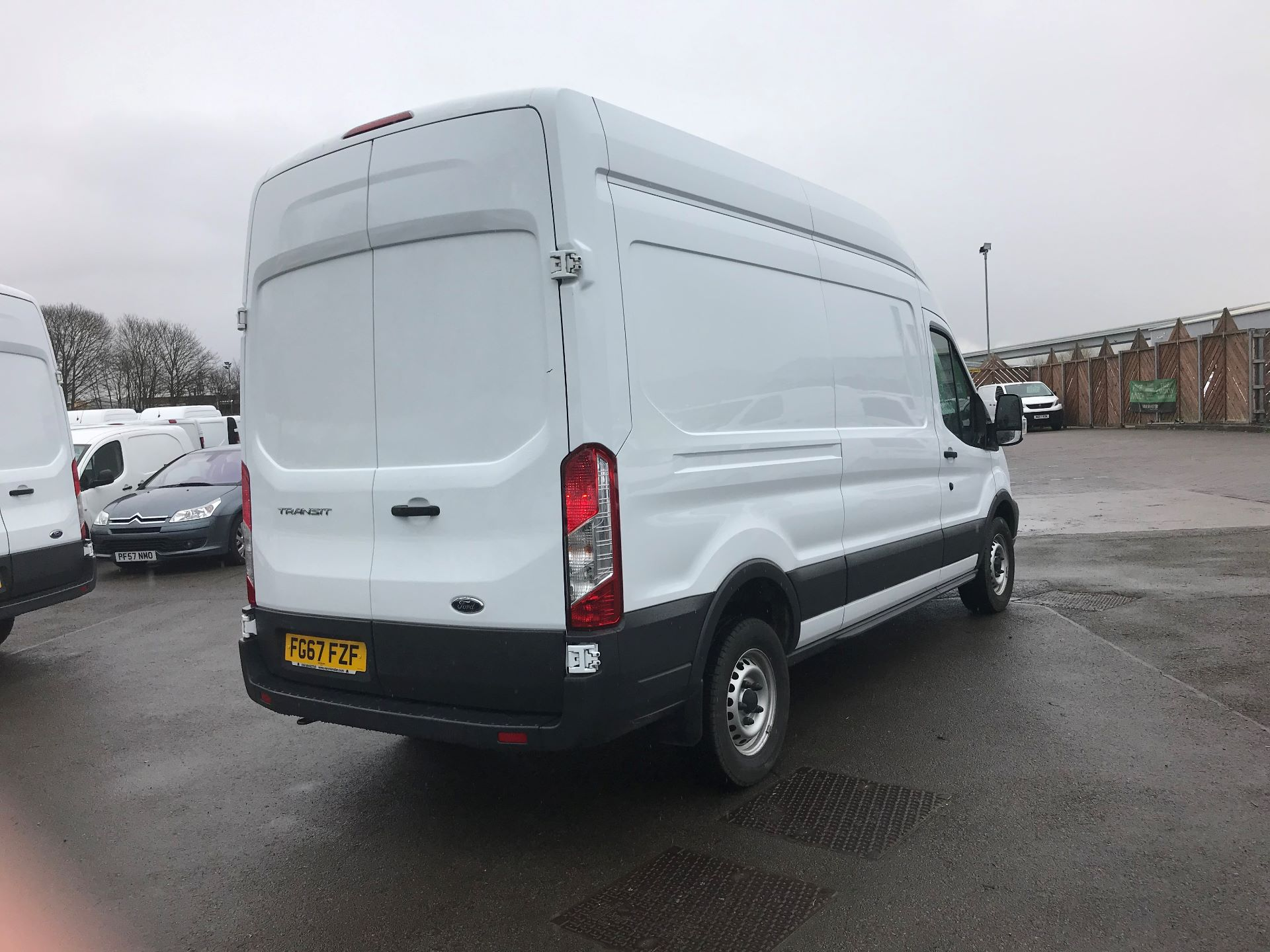 2017 Ford Transit L3 H3 VAN 130PS EURO 6 (FG67FZF) Image 8