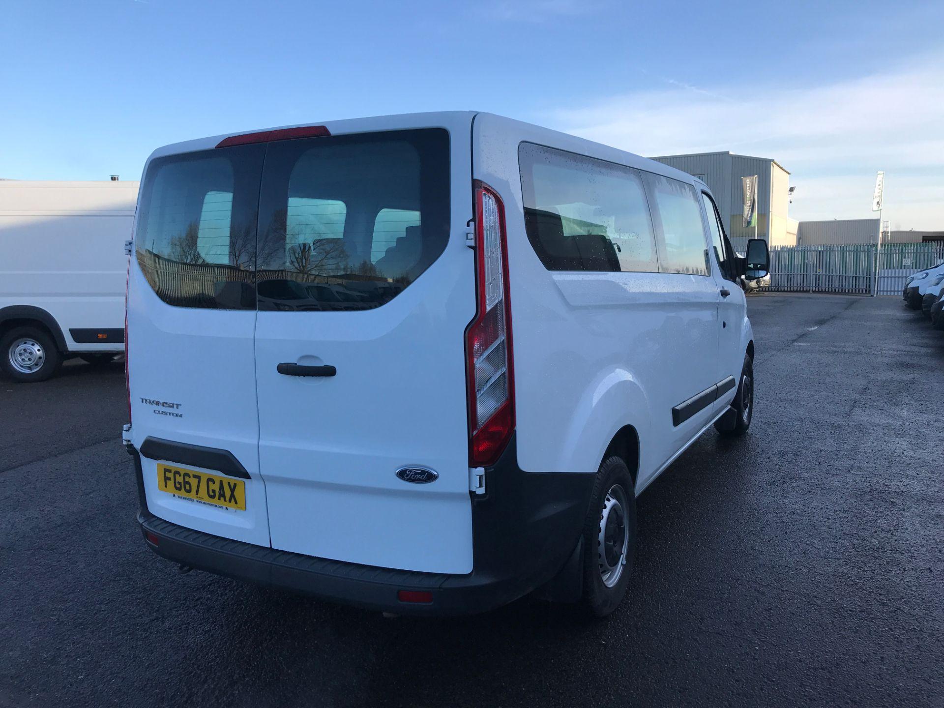 2017 Ford Transit Custom 310 L2 LOW ROOF 9 SEAT MINIBUS 130PS EURO 6 (FG67GAX) Image 8