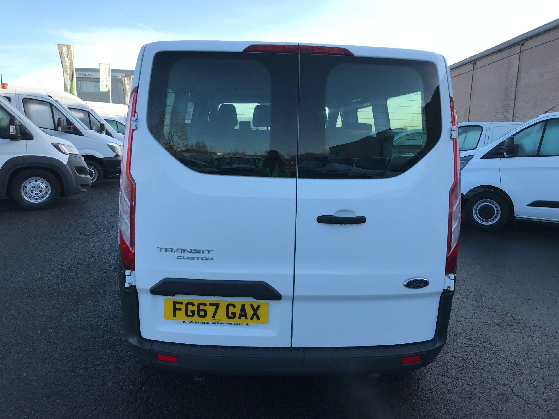 2017 Ford Transit Custom 310 L2 LOW ROOF 9 SEAT MINIBUS 130PS EURO 6 (FG67GAX) Image 9