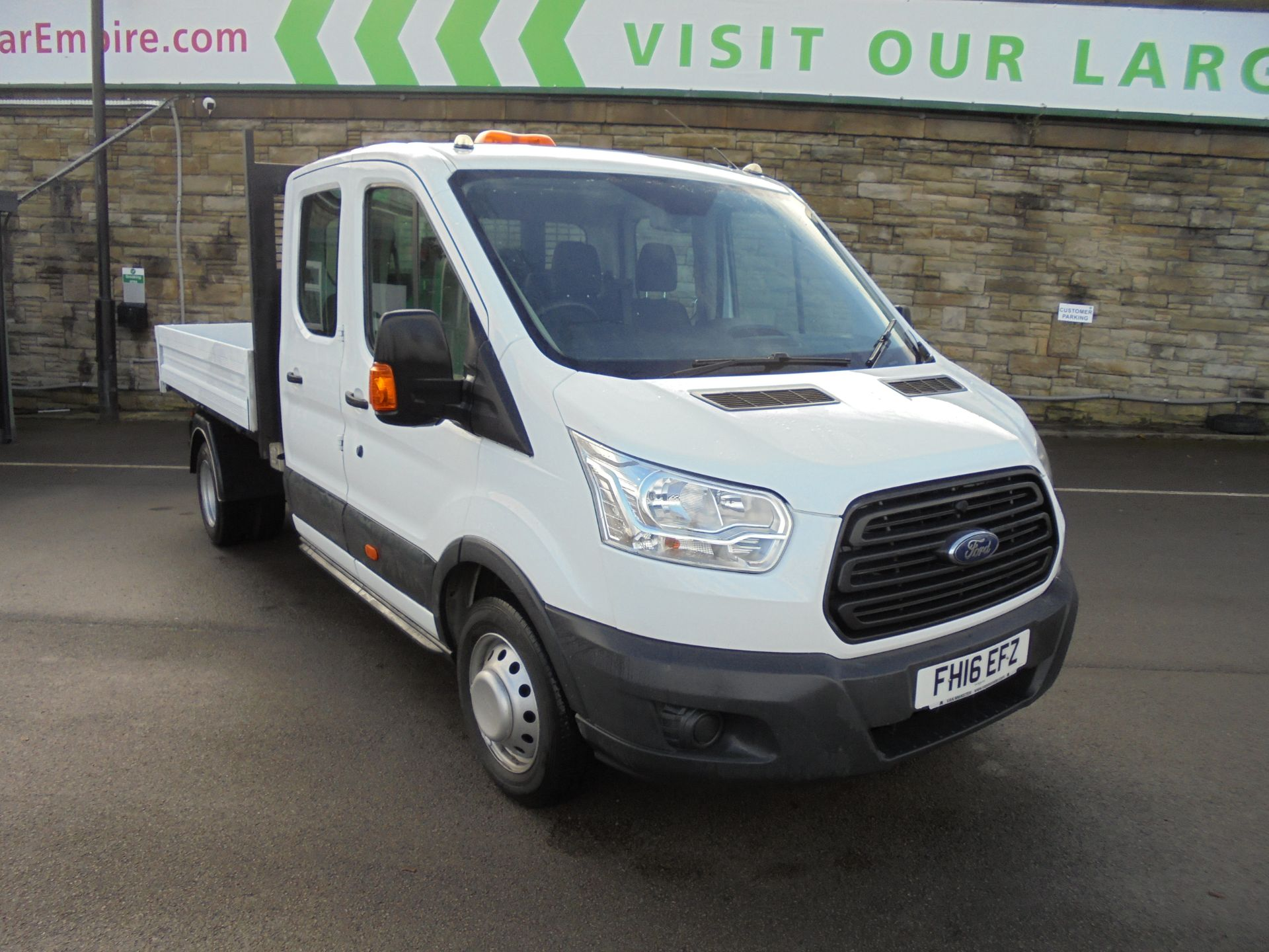 2016 Ford Transit 2.2 Tdci 125Ps Double Cab 1 way tipper (FH16EFZ)