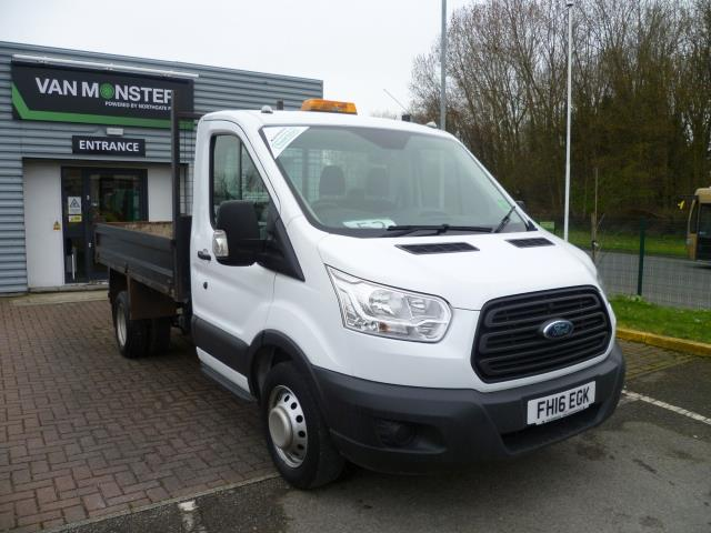 2016 Ford Transit T350 L2 SINGLE CAB TIPPER 125PS EURO 5 (FH16EGK)