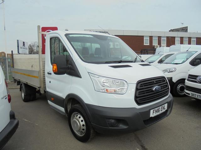 2016 Ford Transit 2.2 Tdci 125Ps Heavy Duty Chassis Cab (DRW) *Dropside With Tail Lift* (FH16EHL)