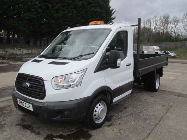 2016 Ford Transit 350 L2 SINGLE CAB TIPPER 125PS EURO 5 (FH16EJF) Image 13