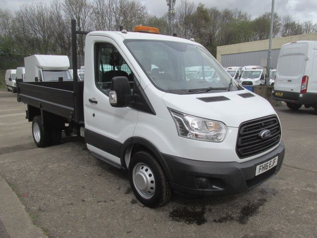 2016 Ford Transit 350 L2 SINGLE CAB TIPPER 125PS EURO 5 (FH16EJF)