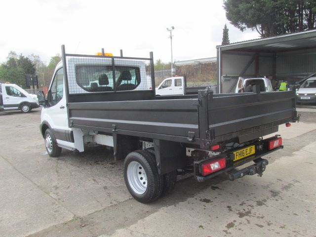 2016 Ford Transit 350 L2 SINGLE CAB TIPPER 125PS EURO 5 (FH16EJF) Image 9