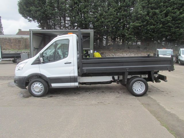 2016 Ford Transit 350 L2 SINGLE CAB TIPPER 125PS EURO 5 (FH16EJF) Image 10