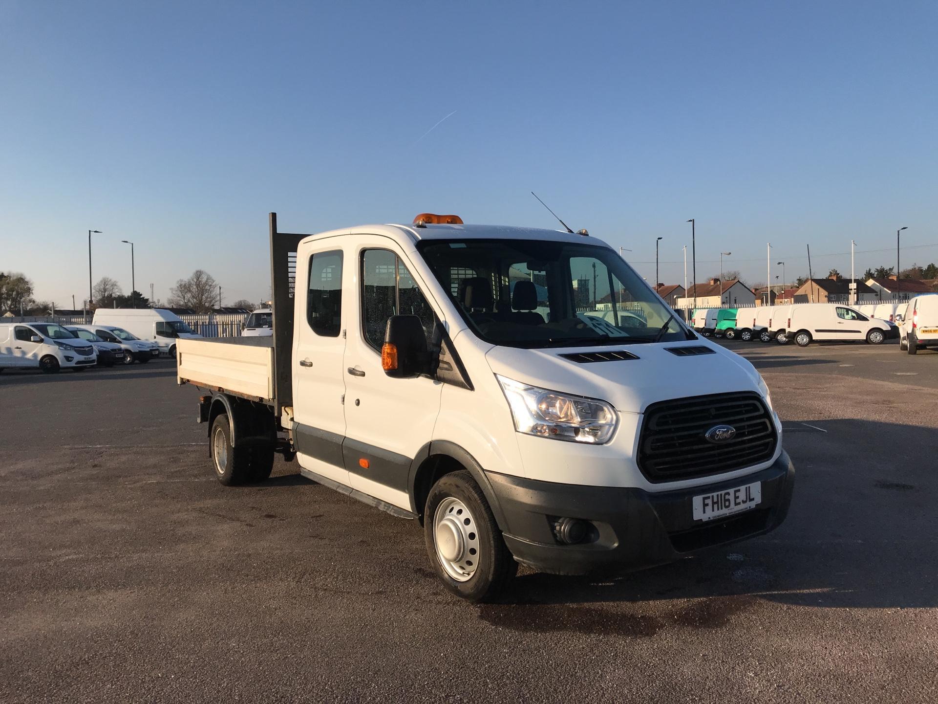 2016 Ford Transit  350 L3 D/CAB TIPPER 125PS EURO 5 (FH16EJL)